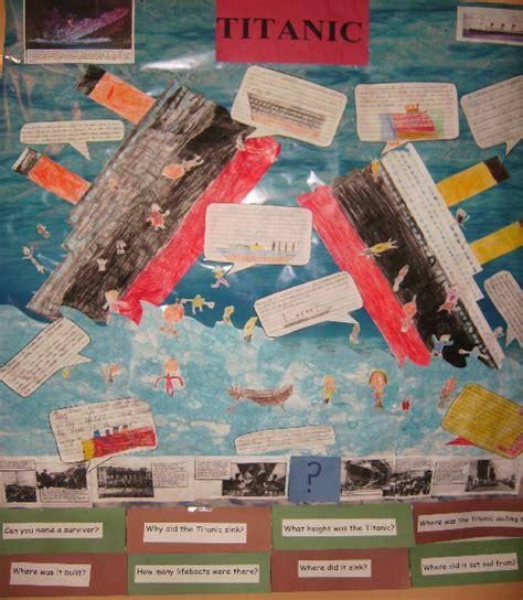 titanic class rooms the titanic classroom display photo photo gallery sparklebox