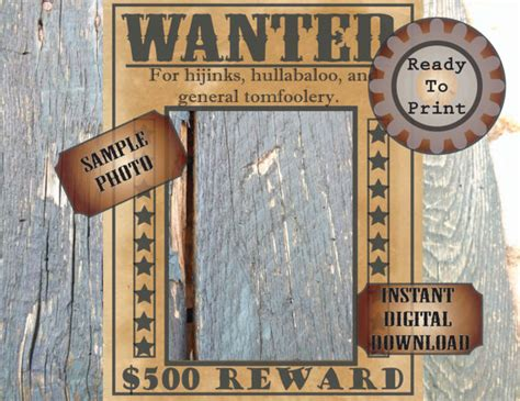 wild west printable photo booth props barn door photo booth backdrop wild west printable 3 sizes