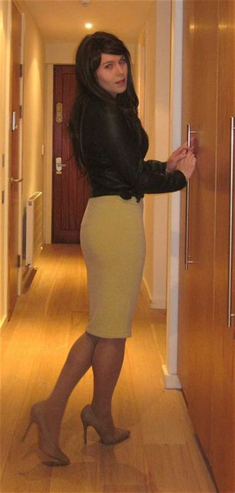 crossdresser on pin simply gorgeous beautiful skirt outfit look sigh
