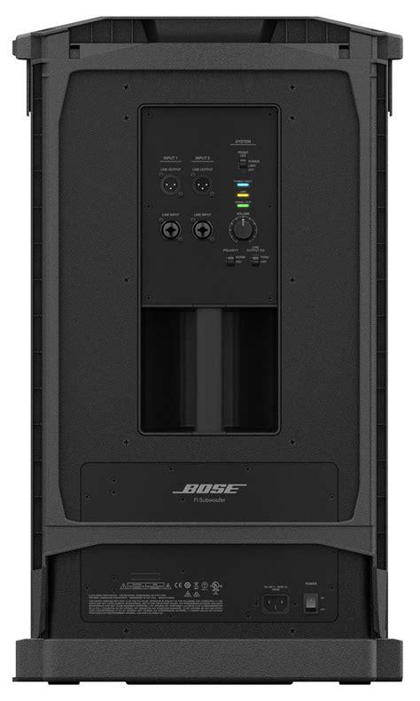 Speaker Bose 10 Inch bose f1 dual 10 inch 1000 watt powered subwoofer pssl