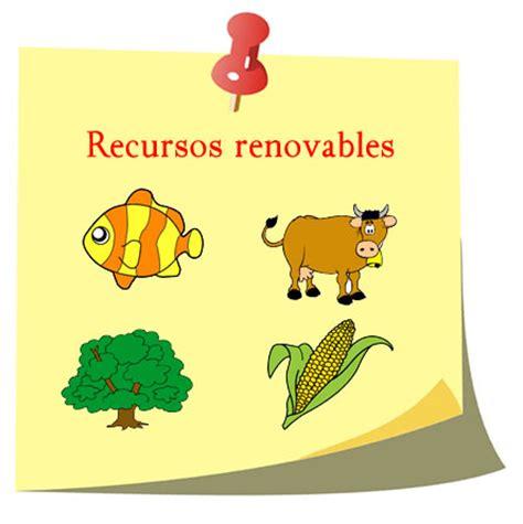 imagenes recursos naturales para imprimir ejemplos de recursos renovables