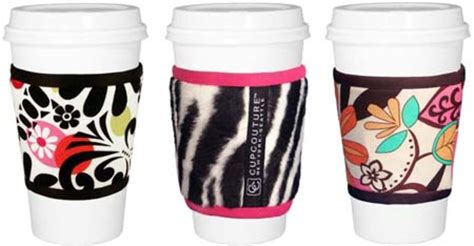 Cup Couture Cup Sleeves by Coffee Clutch Cup Couture Cupcoats Beautygeeks