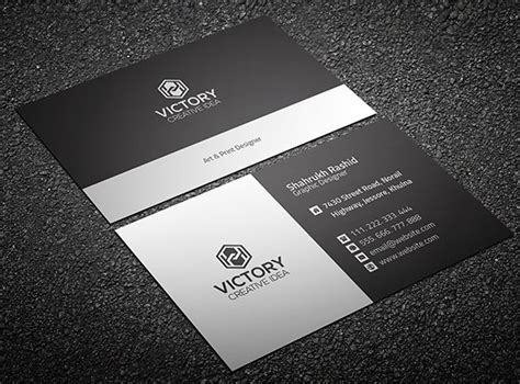 Name Card Templates Psd by Free Graiht Corporate Business Card Template Psd Titanui