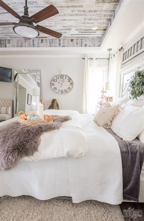 cozy easy fall bedroom decorating ideas  diy mommy