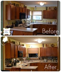 Kitchen makeover before and after by clean your kitchen areas