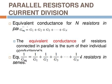 resistors in parallel theory resistors in parallel sum 28 images electric circuits ppt slides unit 5 electricity