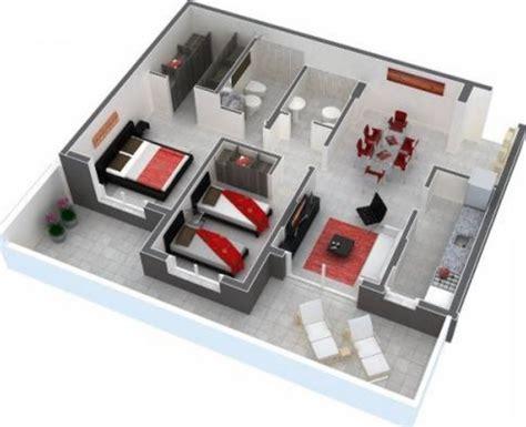 apartamentos 2 habitaciones planos de apartamentos de 2 habitaciones