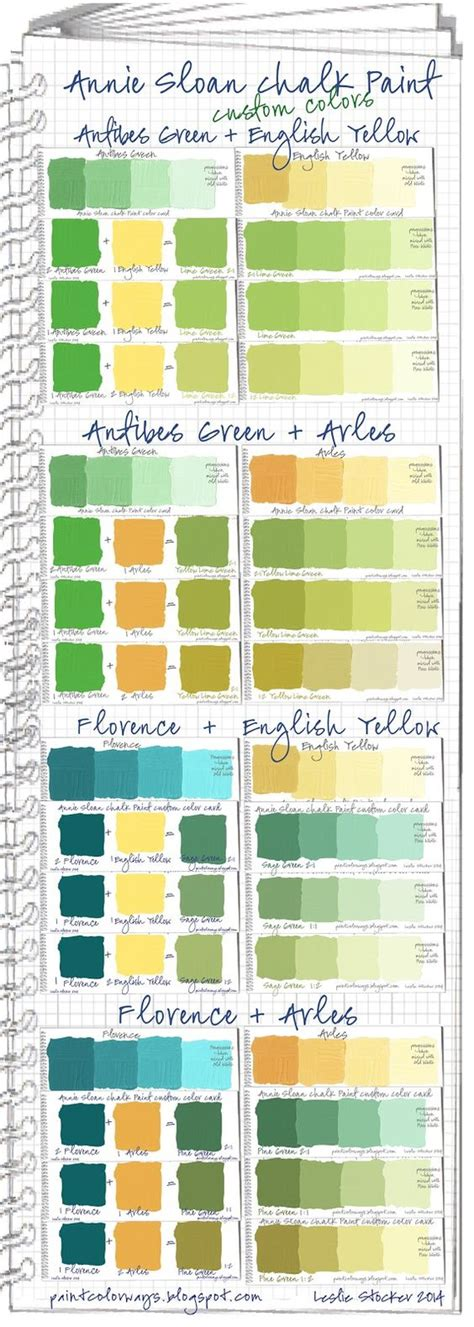 chalk paint mixed colors sloan sloan chalk paint and antibes green on