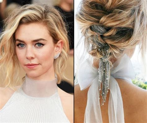 vanessa kirby brown hair sag awards 2017 s flashiest beauty moment hair bling us
