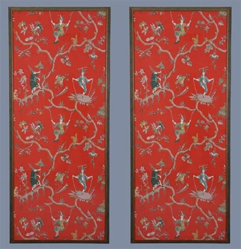 define chinoiserie chinese wallpaper panels wallpapersafari