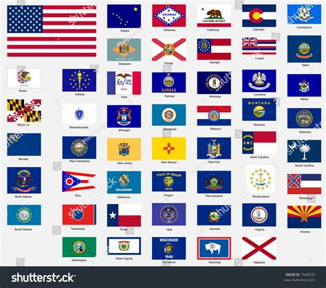 flags of the world united states image gallery state flags
