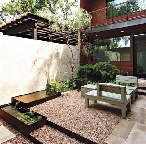 Moderner Garten Mit Wasser by Wasser Im Garten 20 Ideen F 252 R Gartengestaltung Mit Bachlauf