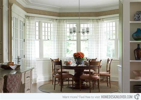 bay window dining room 15 ideas in designing dining rooms with bay window home