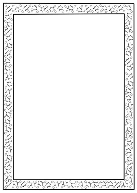 Border Templates For Pages