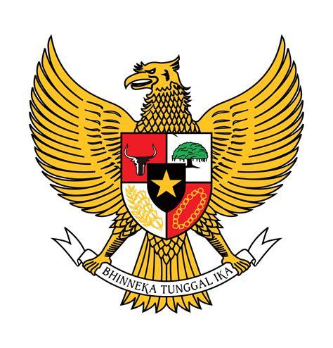 Garuda Pancasila logo garuda pancasila berwarna warna emas