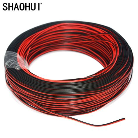 2 copper wire 10m lot 2pin led extension wire cable thinned copper wire cord 2 pin wire for 3528 5050 led
