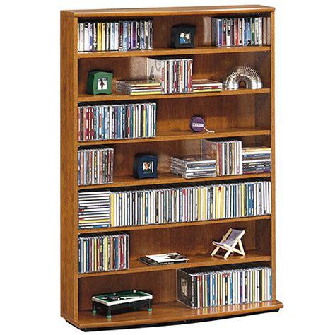 Multimedia Shelf by Sauder Multimedia Storage Tower Fruitwood Furniture