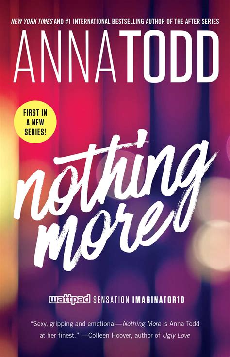 Pdf Nothing More Landon Todd nothing more book by todd official publisher page