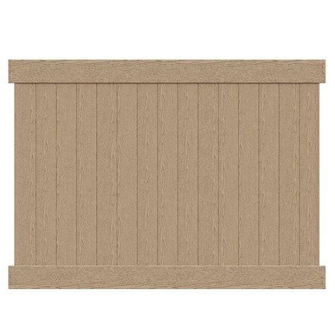 veranda roosevelt 6 ft h x 8 ft w birchwood vinyl