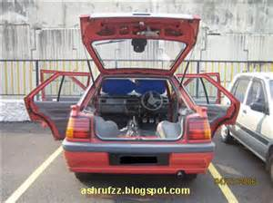 Proton Iswara Aeroback Accessories Ashrufzz Reality Adventure