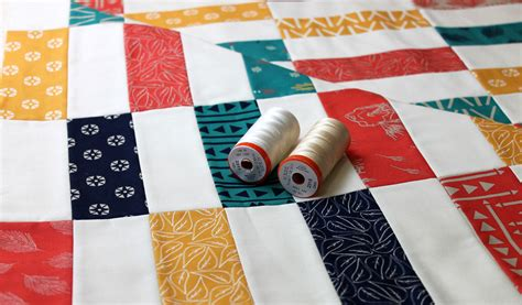 Best Thread For Piecing Quilts by Simple Strips Quilt Along Part 4 Decorative Stitch