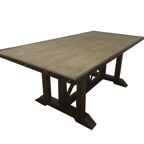 Reclaimed Industrial Dining Table Dining Tables Industrial Dining Table Reclaimed Rustic Vintage Dining Table