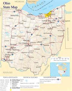 Ohio Map Cities by Map Of Ohio Ohio Maps Mapsof Net