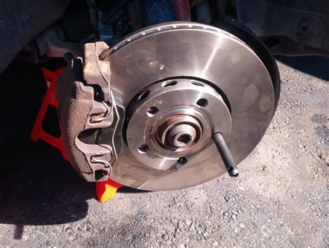 a4 b5 front brake pads rotors replacement diy with