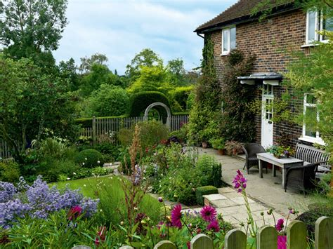 in a cottage garden colourful cottage garden period living