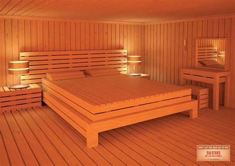 sauna in bedroom six stars air con maintenance living room sauna bedroom