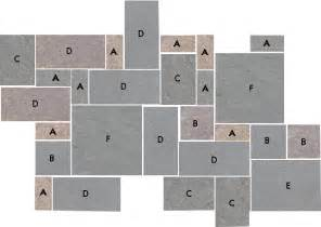 pattern plans for bluestone flagstone patios