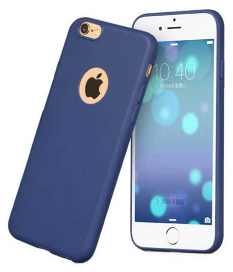 Iphone Iphone 5s And Smurffs Cover apple iphone 5s cover by raykay blue plain back covers at low prices snapdeal india