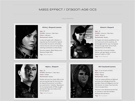 custom themes for tumblr pages in the crosshairs character page theme 1 dramatis