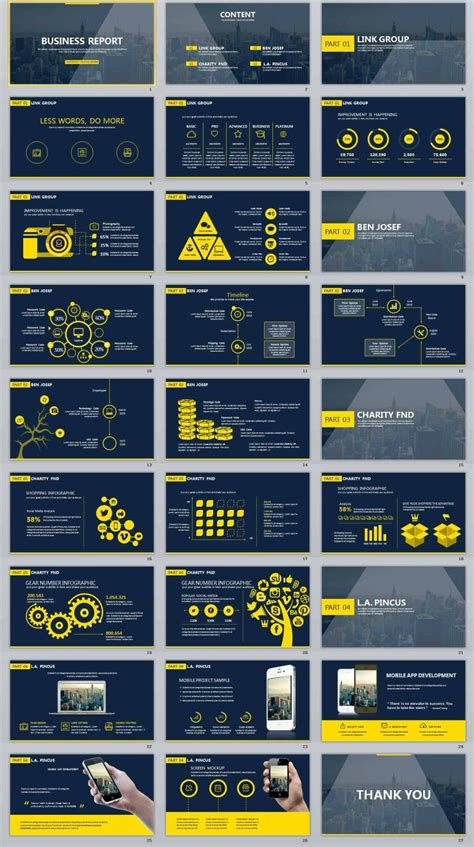 creative the highest quality powerpoint templates and 27 business report creative powerpoint template パワーポイント