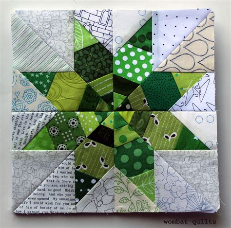 free patterns paper piecing star quilt block wombat quilts page 3