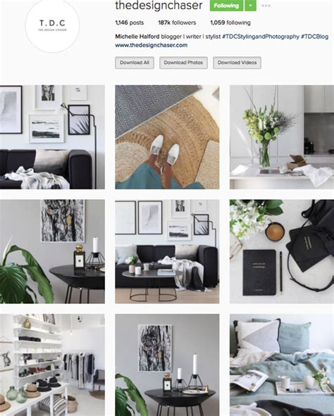 home design instagram accounts the best instagram accounts to follow for home inspiration