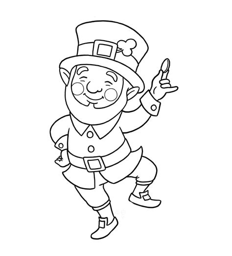 Leprechaun Coloring Pages Free Az Coloring Pages Leprechaun Coloring Pages Free