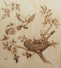 pyrography  templates    burned
