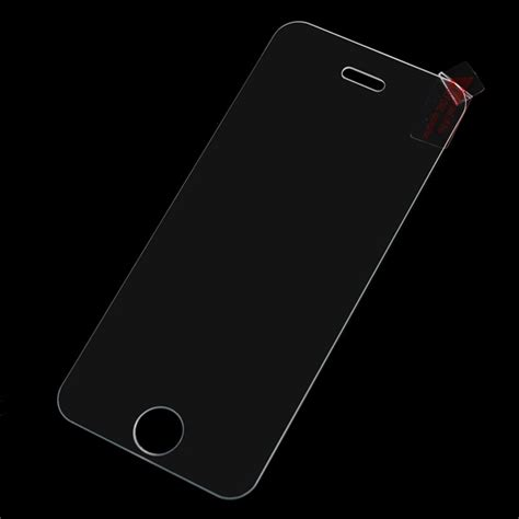 Tempered Glass Iphone 5 5s Non Packing transparency tempered glass screen protector for iphone 5