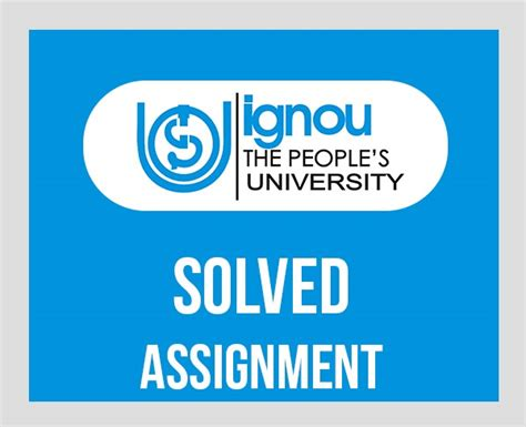 Ignou Mba Solved Assignments 2017 Free by Ignou Bshf Solved Assignment Papers 2017 18 Ignou News