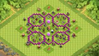 Level 7 coc war base photos newhairstylesformen2014 com