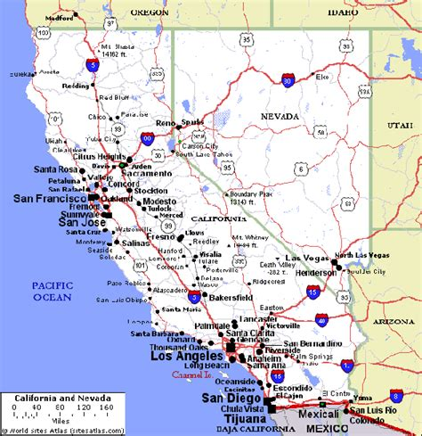 california map road 29 cool map of southern california freeways afputra