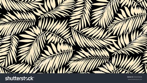 palm leaf pattern vector seamless palm leaf pattern in vector 300205838