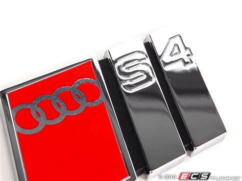 Audi S4 Emblem by Genuine Volkswagen Audi 8d9854727g2zz S4 Emblem