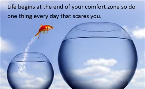 comfort zome outside comfort zone quotes quotesgram
