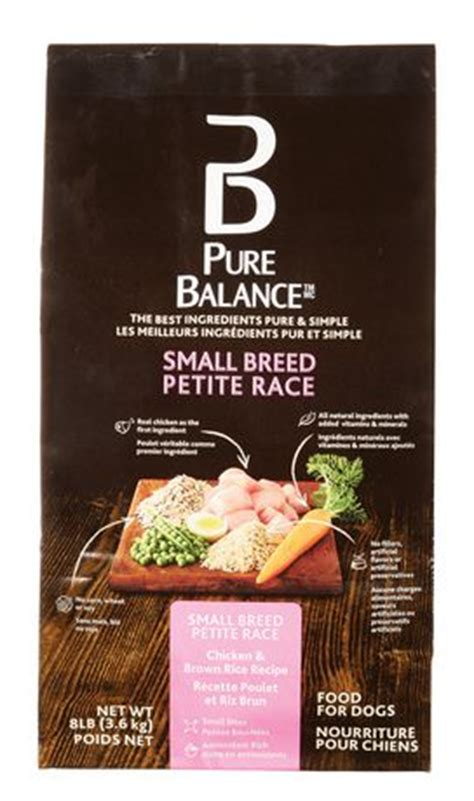 walmart balance food balance small breed chicken brown rice food 3 6kg walmart ca