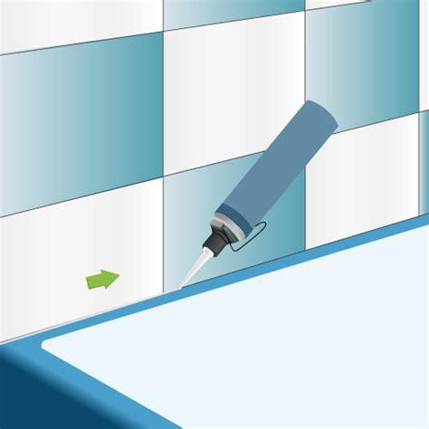 Joint Plastique Baignoire by Poser Un Joint De Silicone Salle De Bain