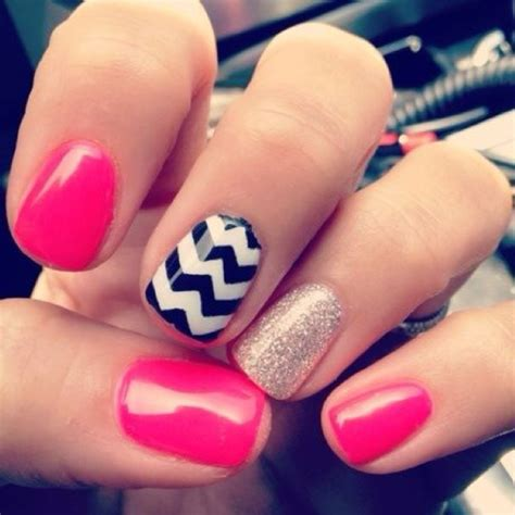 zig zag pattern nails pinterest discover and save creative ideas