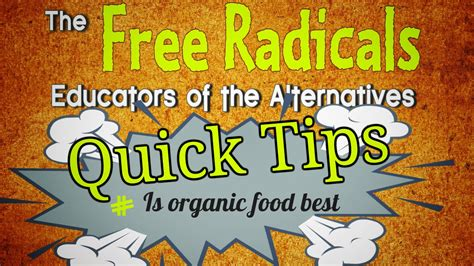 4 quick tips to find weekly quick tips is organic food best