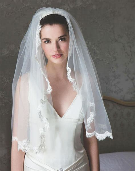 Bridal Veil by Wedding Veil Styles Weddingelation